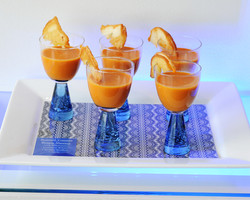 Roasted Tomato Bisque Shooters