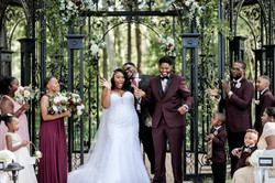 Gazebo Outdoor Wedding at Black Iris Estate