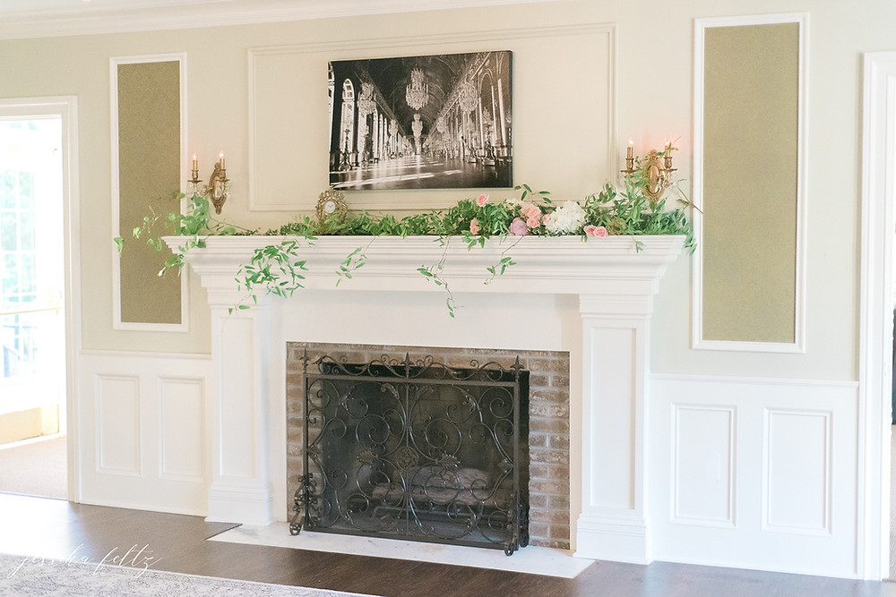 sunroom fire place
