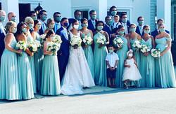 Bridal Party at Black Iris Estate