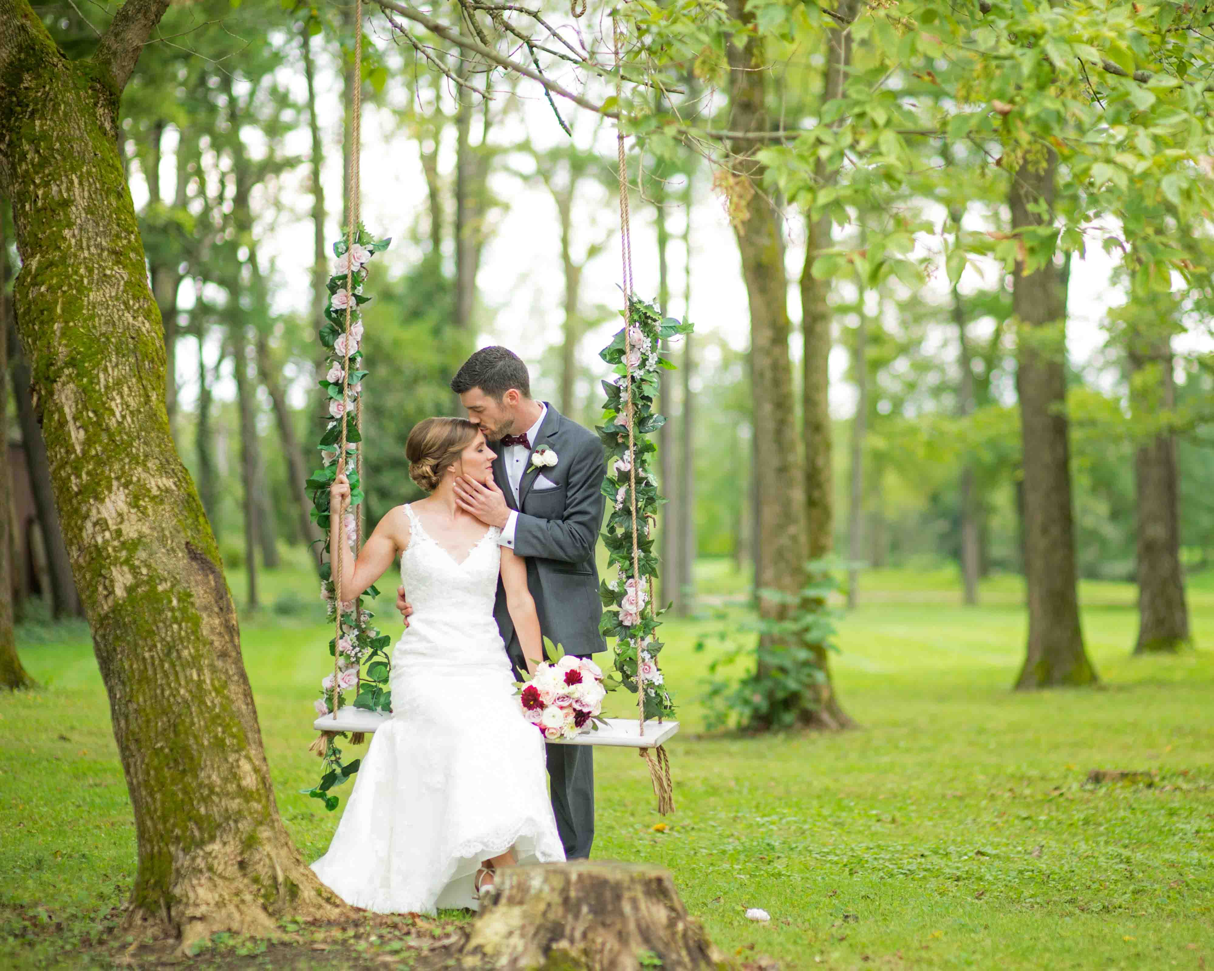 Swing at Black Iris Estate Venue