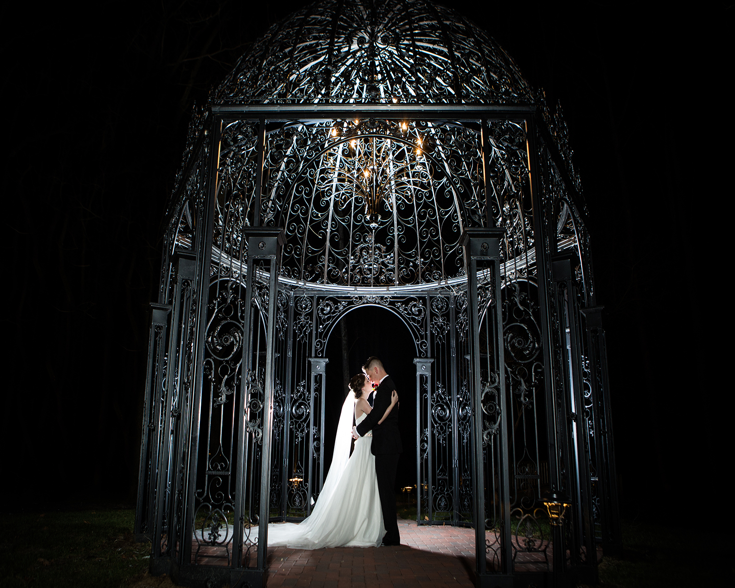 Gazebo at Black Iris Wedding Venue