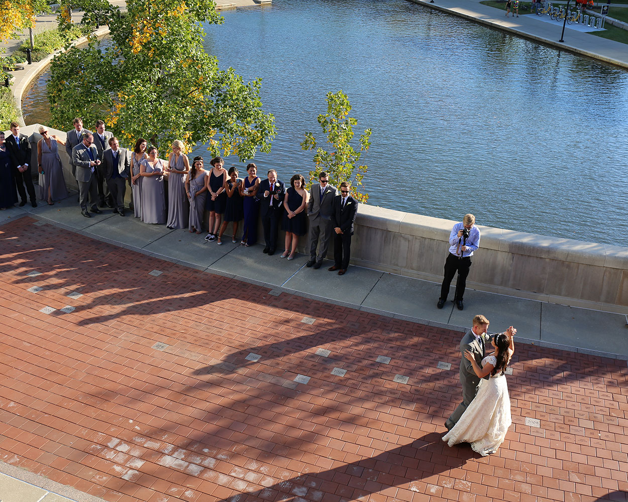 outdoors wedding indianapolis