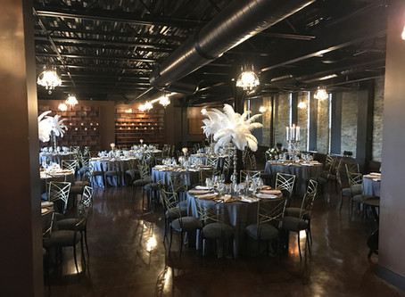 1920's Inspired Wedding Reception