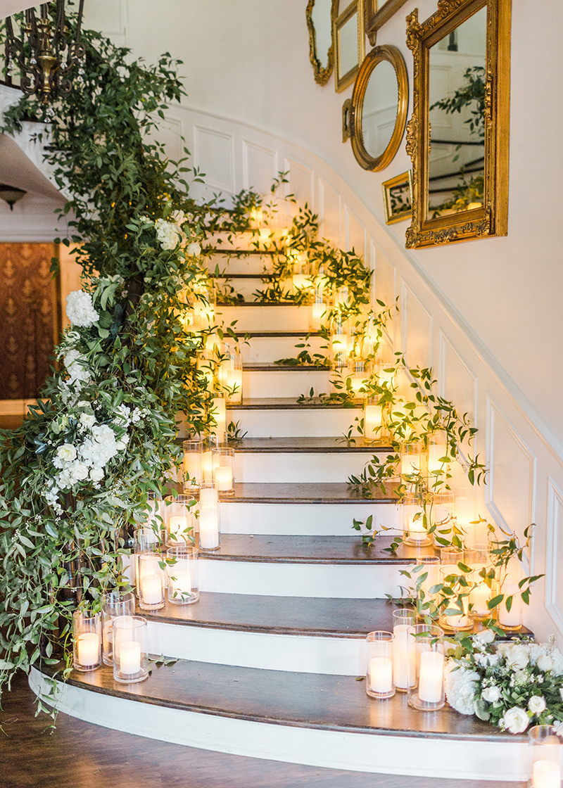 Grand Staircase at Black Iris Events