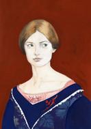 Jane-Eyre ( gouache, aquarelle)