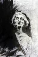 Portrait femme (Monotype)