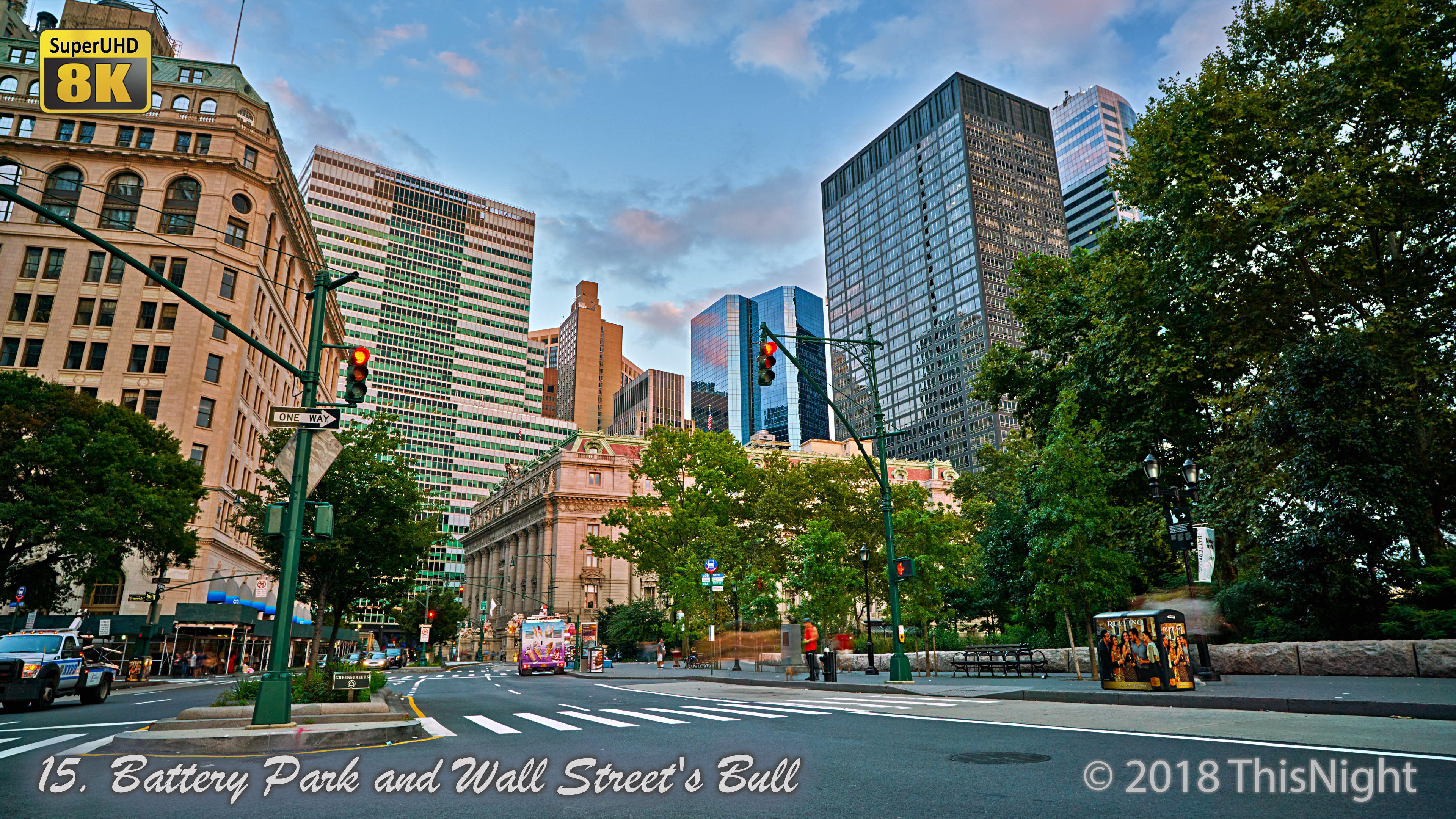 Battery Park and Wall Street