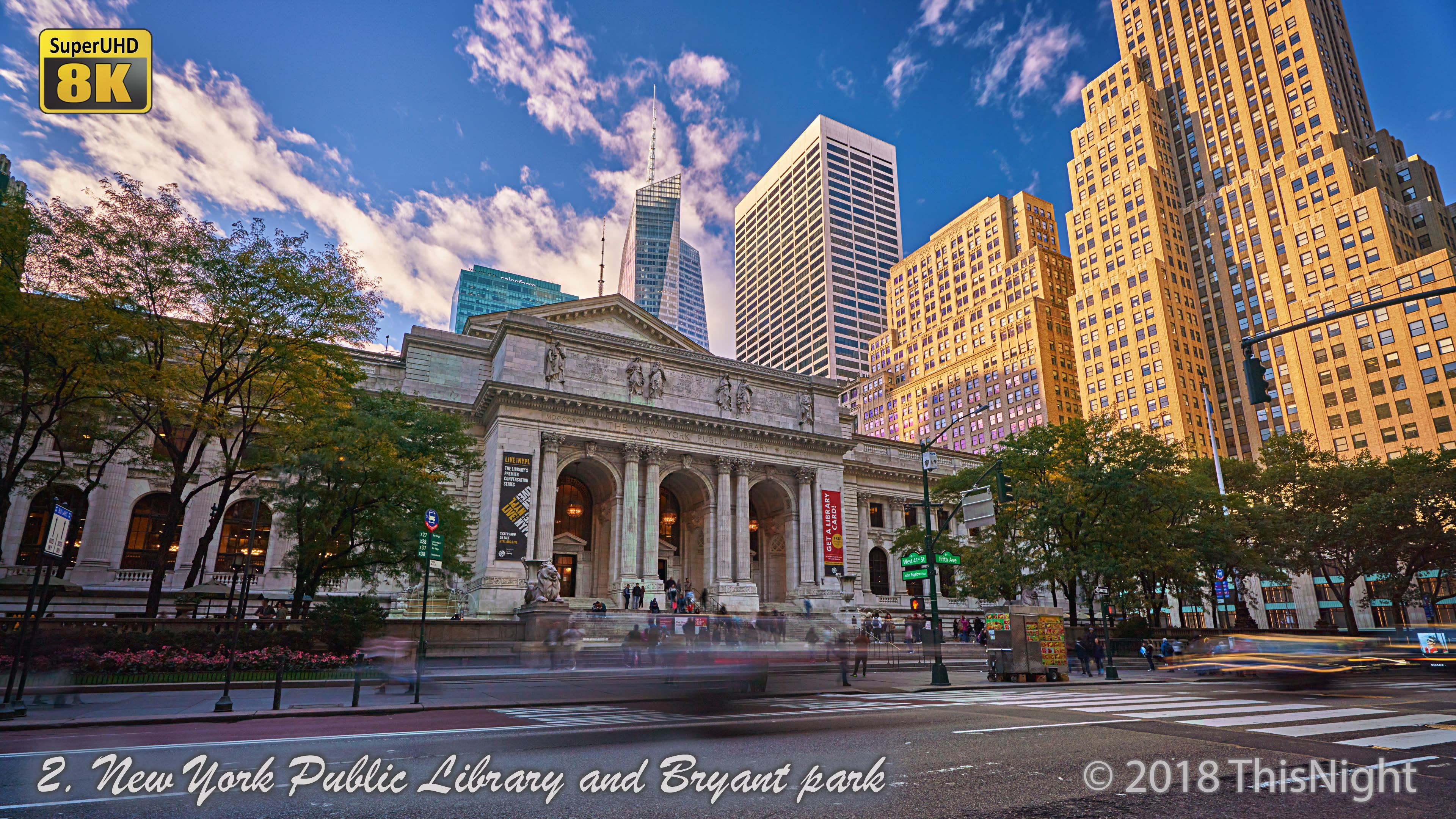 New York  Public Library.Bryant Park