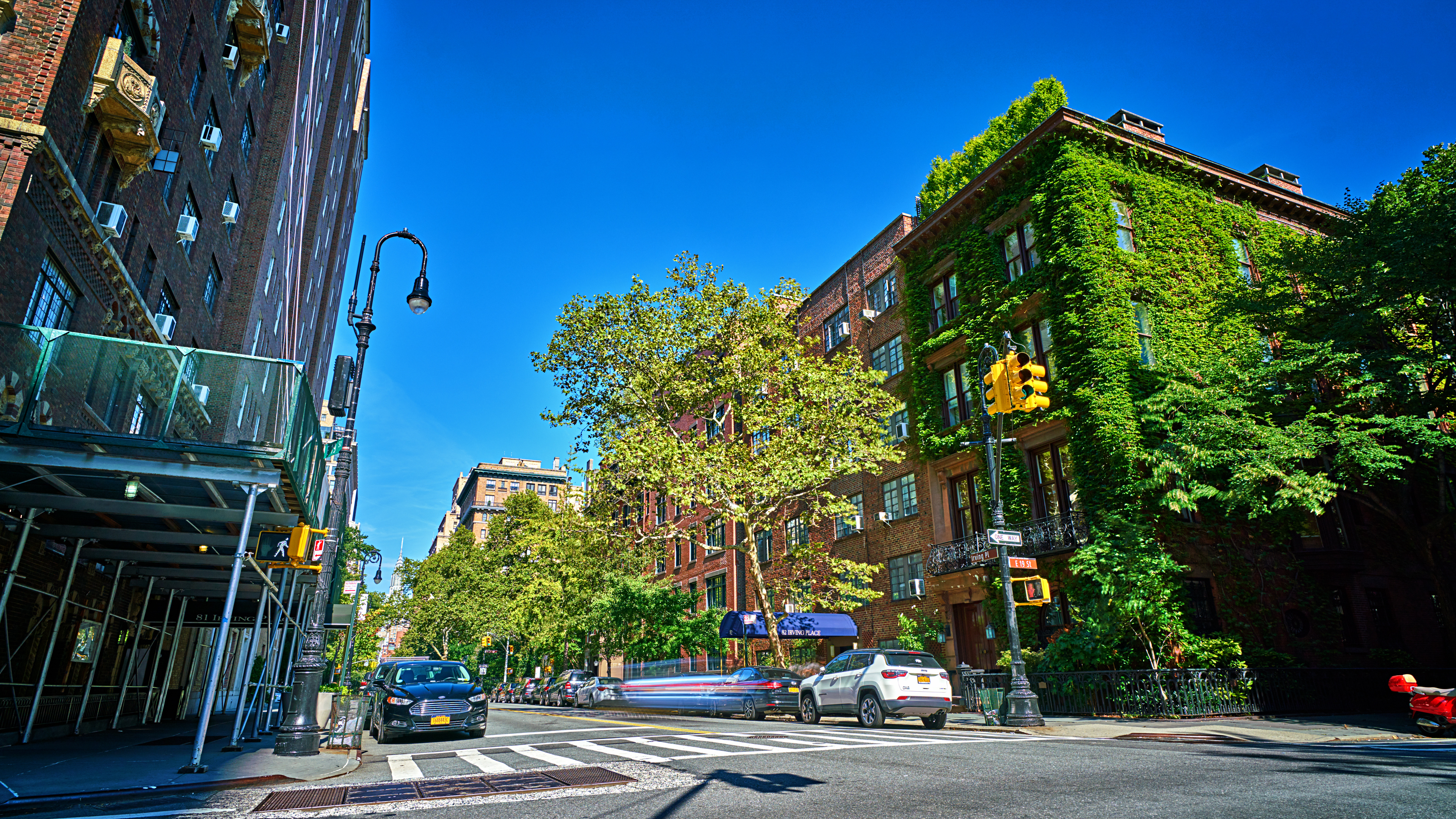 Calm New York Street