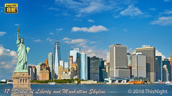 Manhattan Skyline. New York