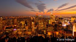Night Midtown Manhattan