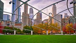 Jay Pritzk. Millennium Park. Chicago