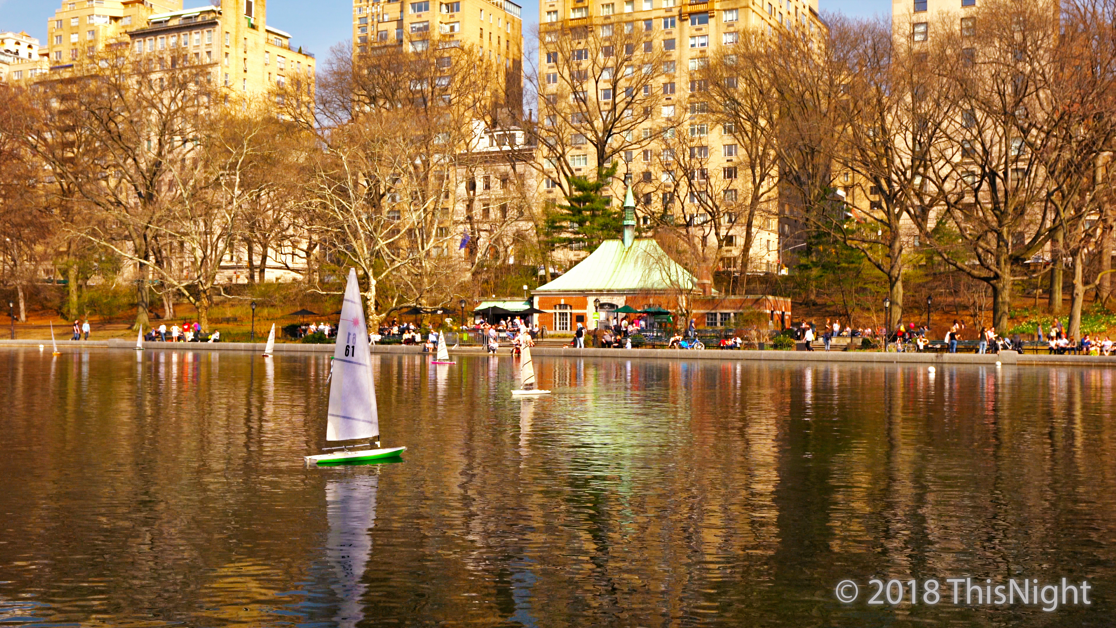 Conservatory Water after renovation