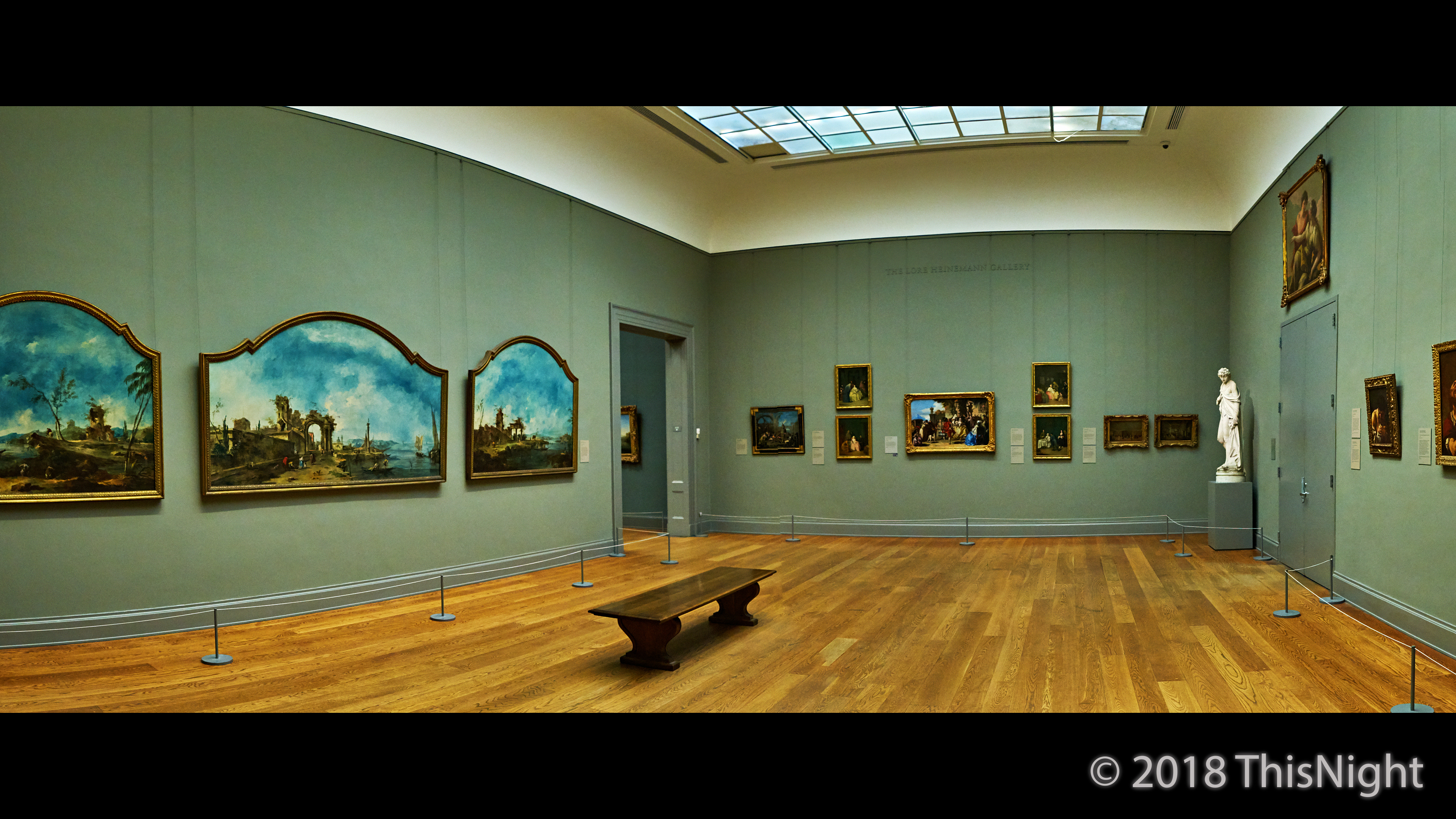 European paintings at the museum