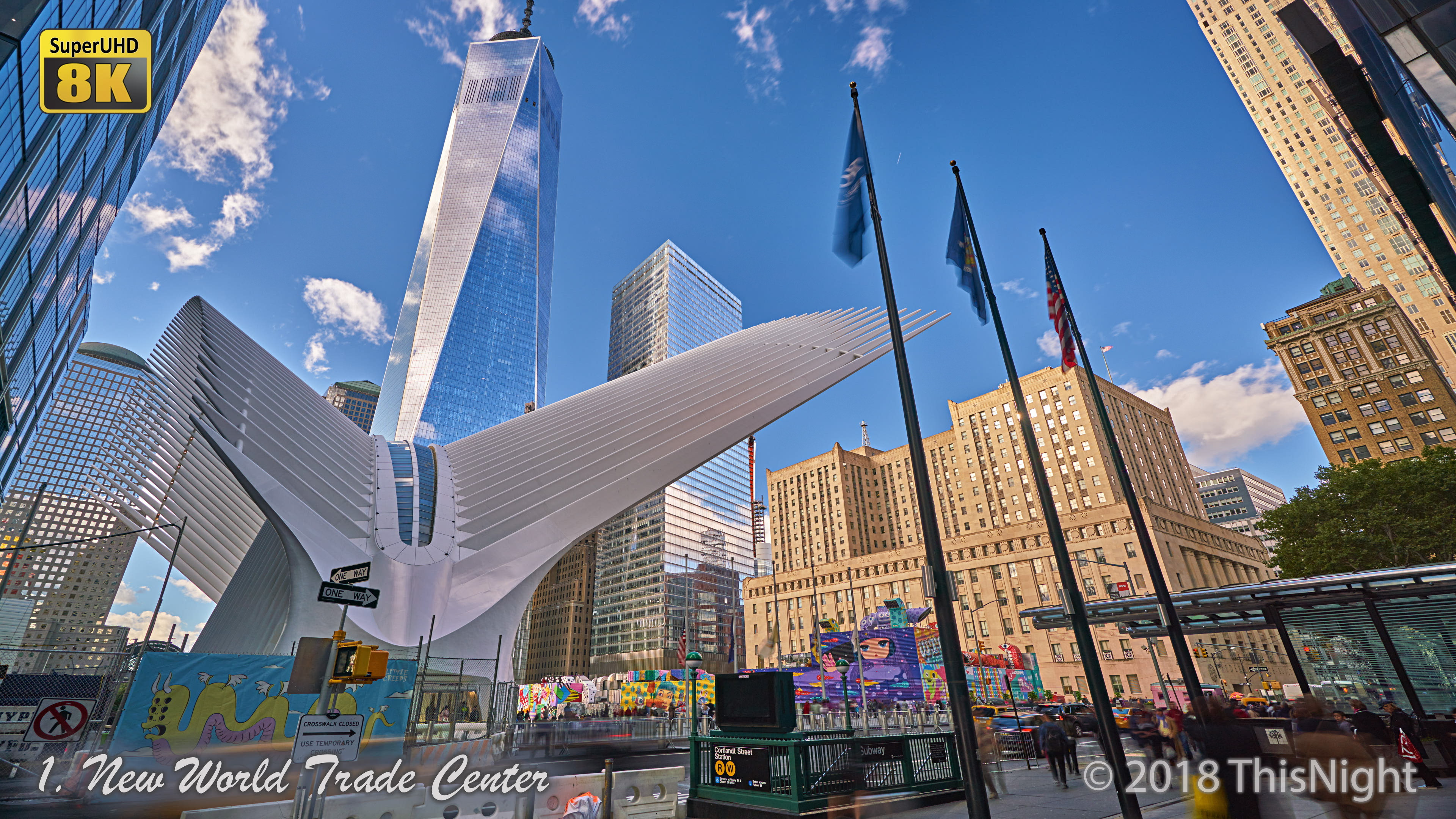 Freedom Tower.New World Trade Center