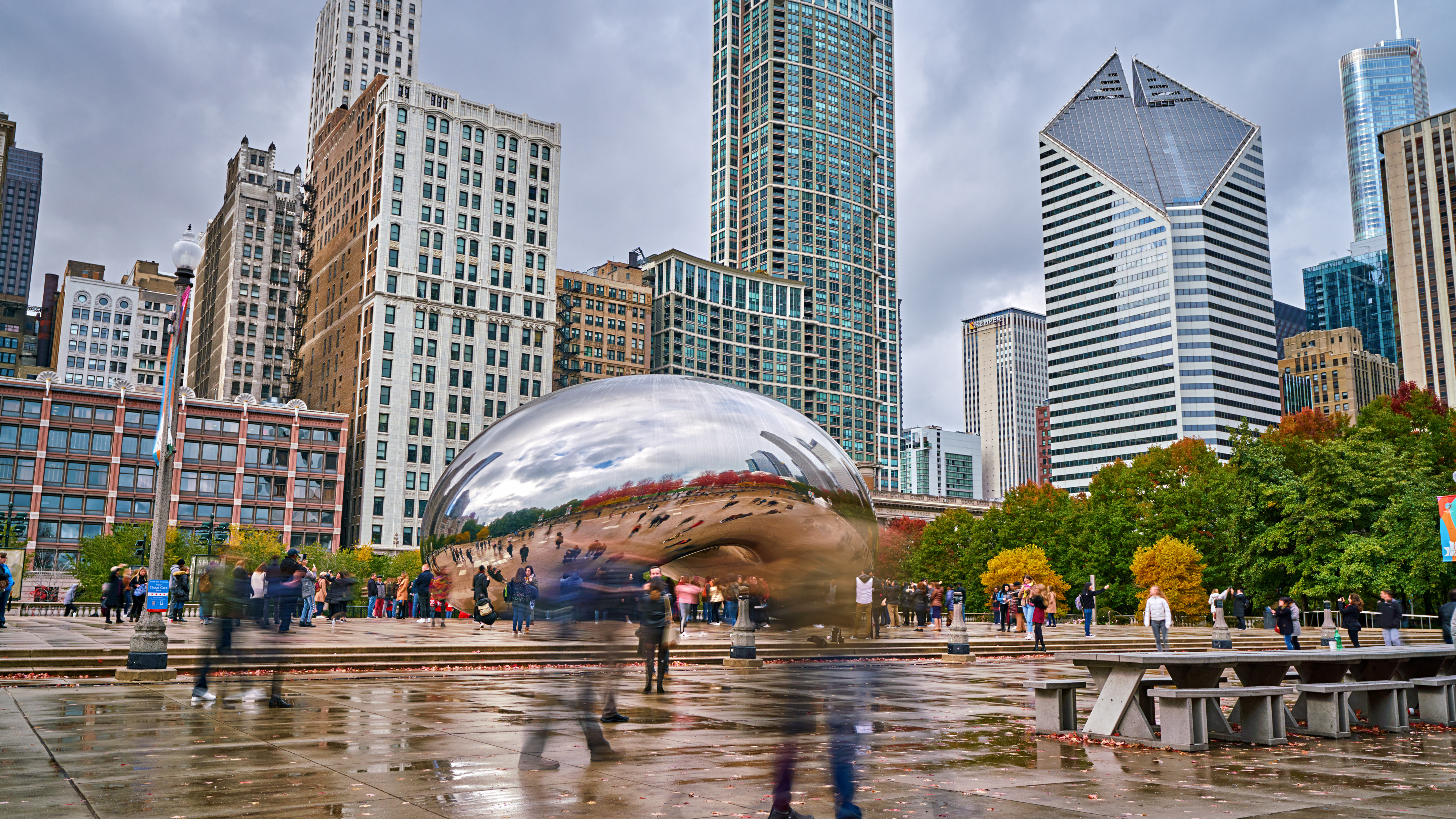 Cloud Gate. Millennium Park. Chicago