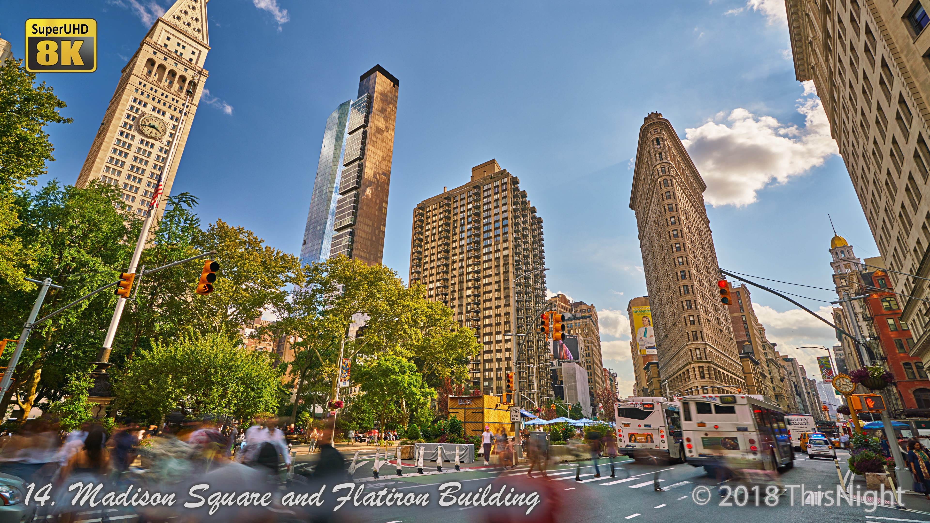 Madison Square and Flatiron Building