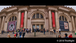 Entrance facade of The Met