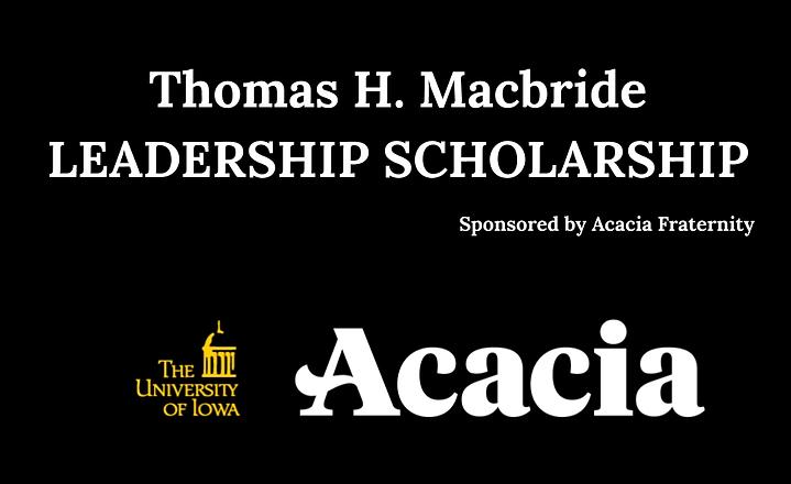 Acacia Scholarship