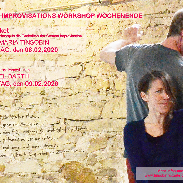 Contact Improvisations Workshop Wochenende