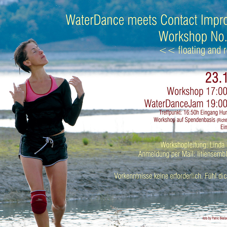 WaterDance meets CI / No.3 <<floating and rolling>>
