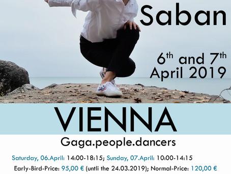 06.-07.April Gaga-Weekend in Vienna