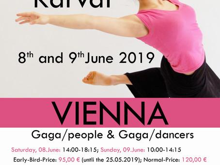 08.-09.June Gaga-Weekend in Vienna