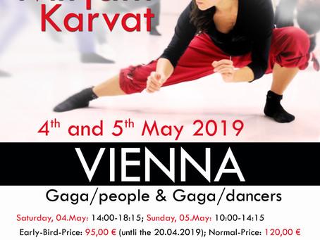 04.-05.May 2019 Gaga-Weekend in Vienna