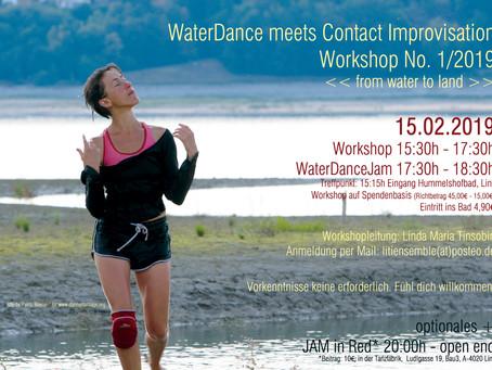 WaterDance meets ContactImprovisation