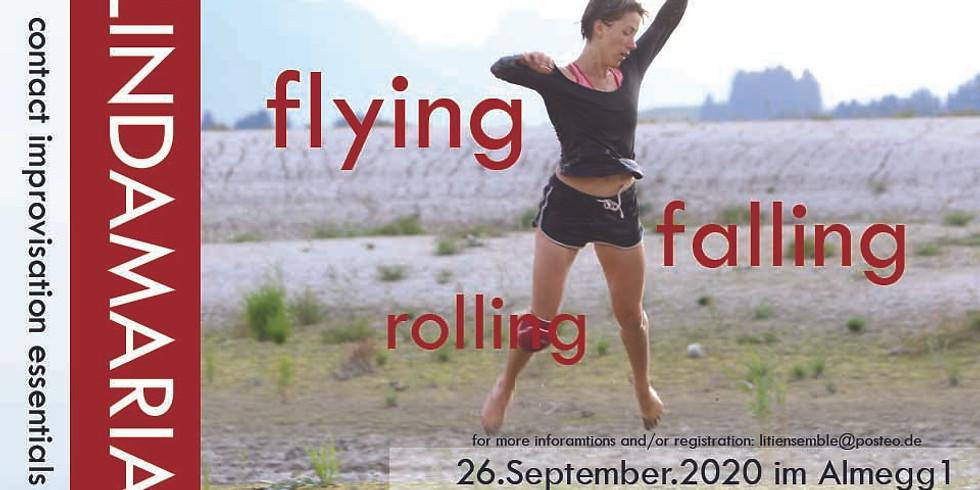 flying - falling - rolling
