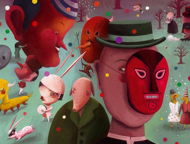 """""""Quantas vezes o real não nos parece fantástico?"""" As ilustrações de Rebeca Luciani"""