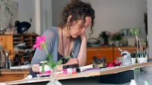 """""""Todos podem criar imagens bonitas"""", diz a ilustradora alemã Stefanie Harjes"""