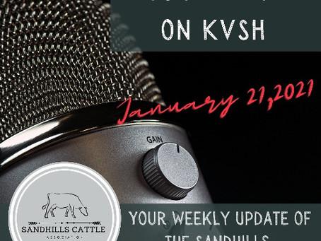 SCA Radio Spot on Jan. 21, 2021