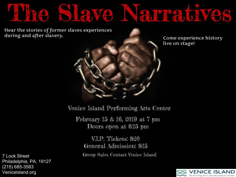 Book for The Slave Narratives
