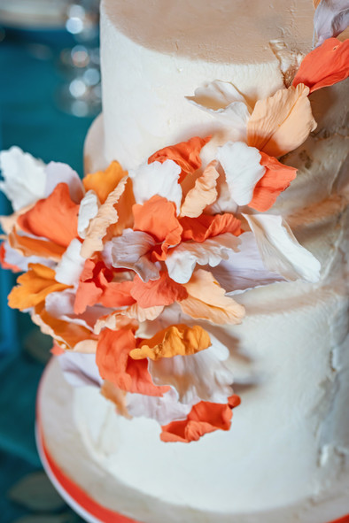 Peach Petals Wedding cake.jpg