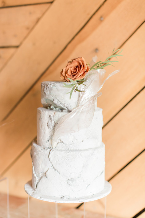 Aged Stone Cake