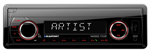 MADRID 170 BT Car Radio