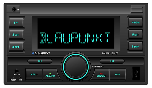 CAR RADIO PALMA 190 BT