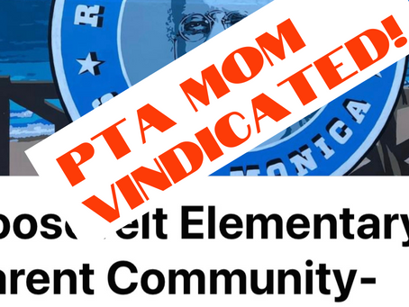 PTA Mom Vindicated!