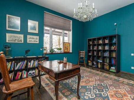 Inspirasi Dekorasi Interior Rumah Warna Biru yang Cantik Nan Elegan