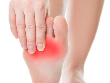 Why have I developed foot pain since lockdown?