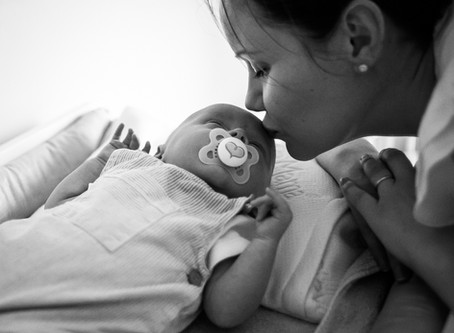 Newborn Session at Home - Welcome Little One