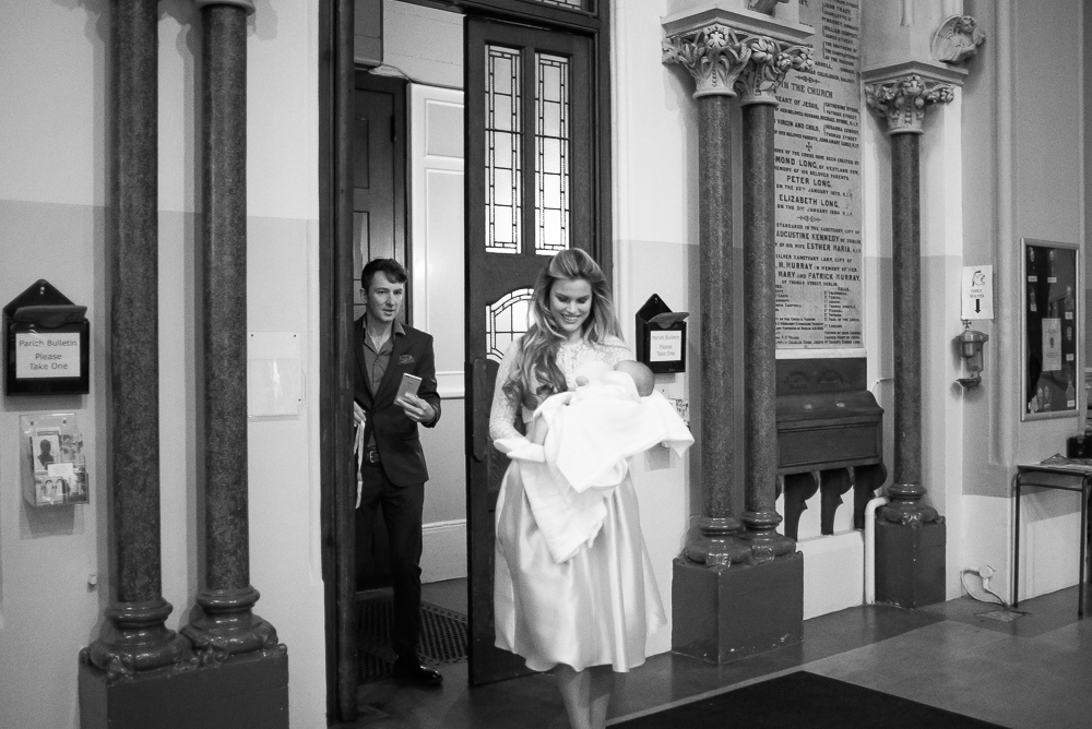 Rosalind Lipsett and baby Theo - Christening Photography by Camila Lee