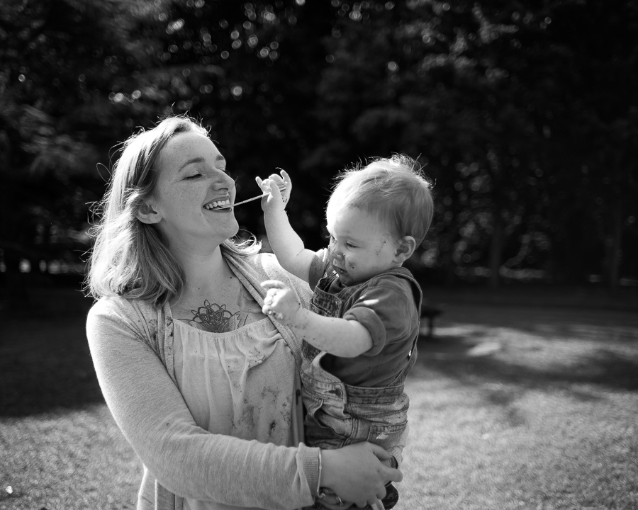Cake Smash Photography Session at St Annes Park in Dublin by Camila Lee Family Photographer