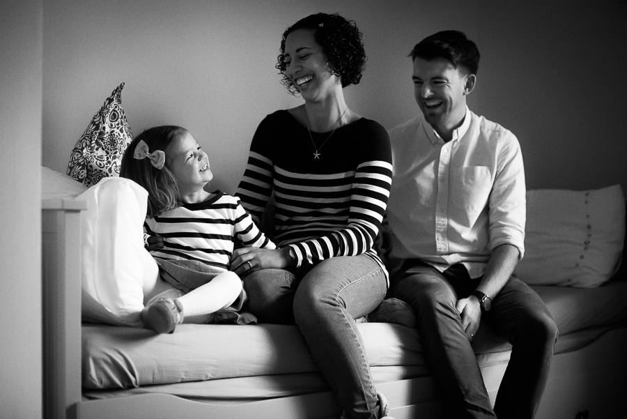 Family photoshoot at home in Dublin by Camila Lee