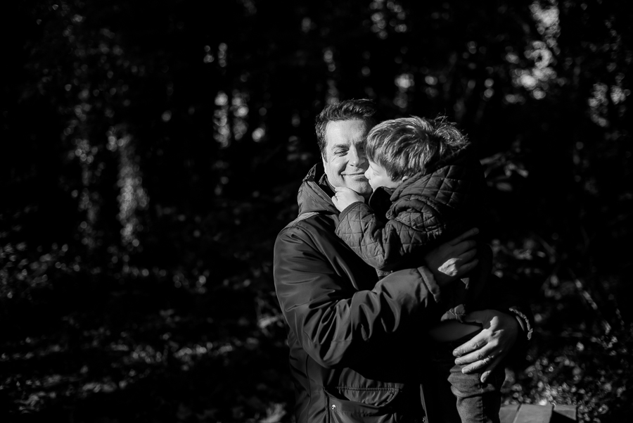 Dad and son - Family Photography Session by Camila Lee at Malahide Castle, Dublin