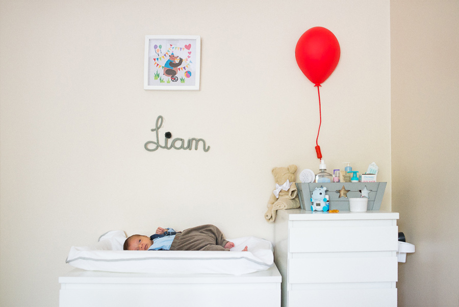 Newborn Photography at Home in Dublin by Photographer Camila Lee