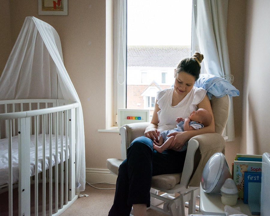 Newborn baby's room. Photo by Camila Lee