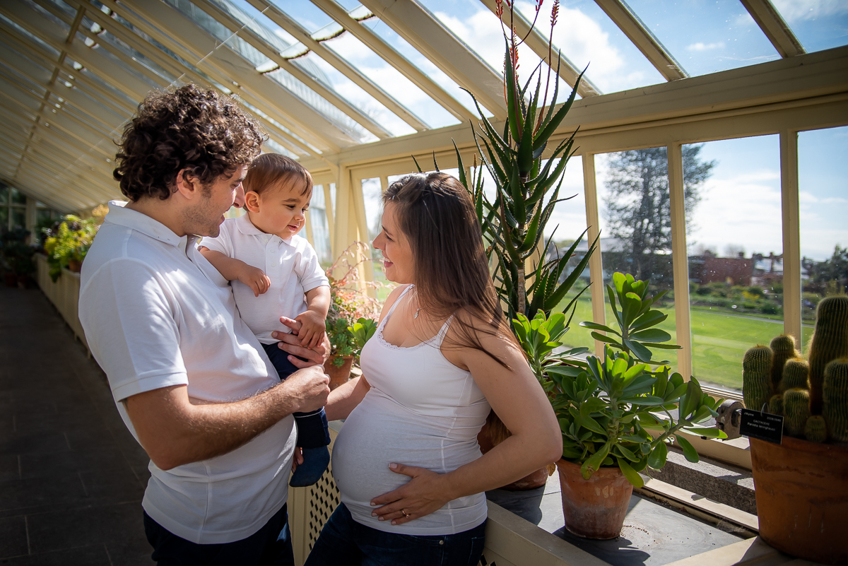 Maternity and Family Photography by Camila Lee - Dublin - Botanic Gardens